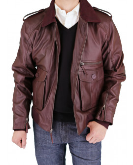 Luciano Natazzi Men's Fine Leather Jacke - Image1