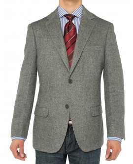Mens LN Luxurious Hair Blazer Modern Fit - Image1