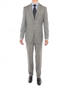 Mens LN Two Button Suit Side Vent Jacket - Image1