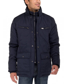 Mens Patton Four-Pocket Quilted Puffer J - Image1