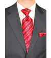 Mens Two Button Modern Classic Fit Suit  - Image3